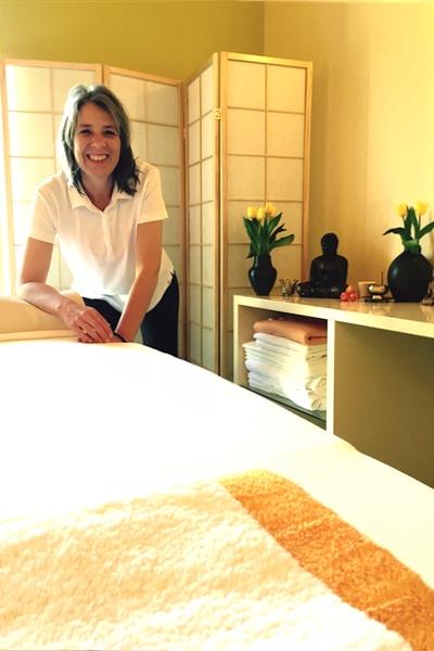 Massage zur Entspannung bei Meditation